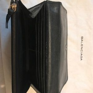 Balenciaga Bags - Balenciaga Classic City Leather Wallet